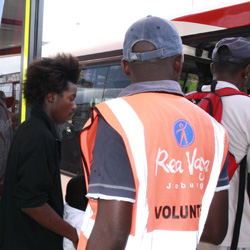 Making use of Rea Vaya - a new public transport option