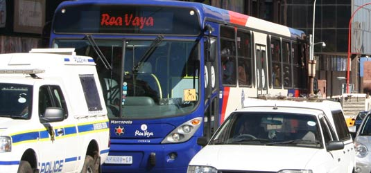 Rea Vaya promotes green transport
